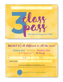 three class pass